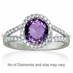 Amethyst Dazzle Ring