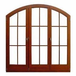 Teak Wood Window Frame