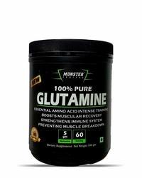 Monster Seriies Monster Series Glutamine, 300 Gm, Packaging Type: Plastic Jar