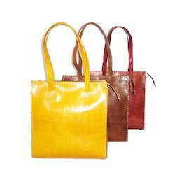 Plain Leather Bags