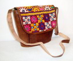 Embroidery Leather Bags