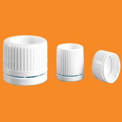 HDPE White Tamper Proof Caps, Neck Size: 20 mm