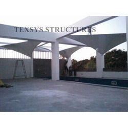 Terrace Tensile Structure