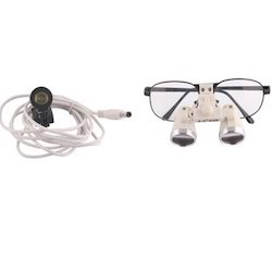 Binocular Head Loupe with Head Light