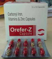 Carbonyl Iron Vitamin and Zinc Capsule