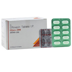Otox Ofloxacin 200 Mg Tablet, Packaging Size: 20x10 Tablet, Packaging Type: Box