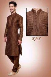 Brown Designer Kurta Pajama