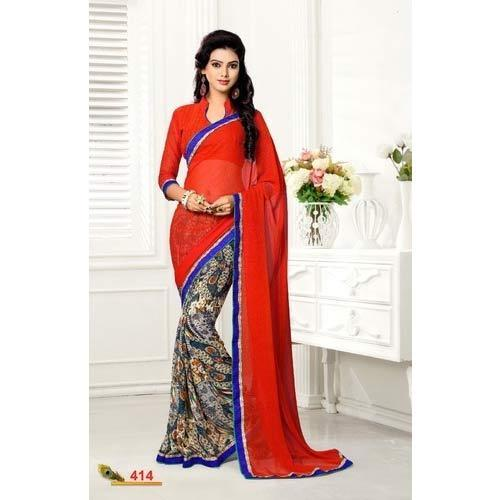 3f8b0a1a43 Sarees-Cotton - Printed Cotton Saree Wholesaler from Mumbai