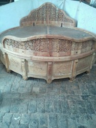 Round Carving Bed
