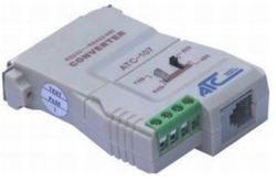 ATC RS-232 To RS-422/485 Isolated Serial Converter with 400 W Surge Protection, ATC-107