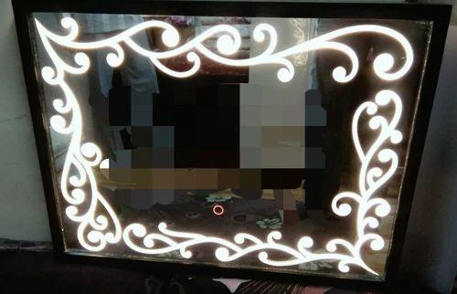 Make Up Mirror With Led Light Touch Senser