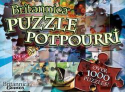 Britannica Puzzle Potpourri CD, Awesome Merchandise   Blue Rose ...