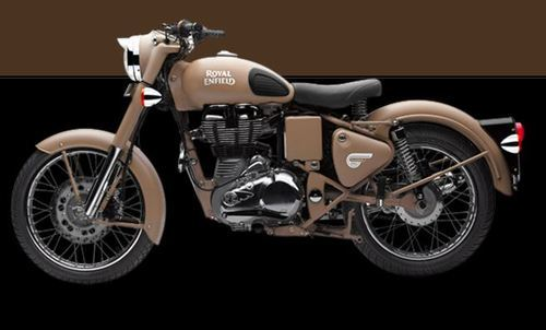 The Royal Enfield Classic 500 Desert Storm On Road Price In