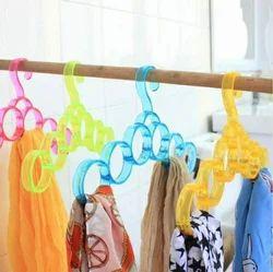 Acrylic Single Layer Scarf Hanger
