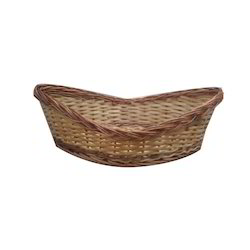 Bamboo Willow Boat Basket