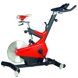 Aakav Fitness Red SX-500 Cardio Spin Bike, For Gym