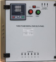 Three Phase Digital  Star Delta Starter Panel