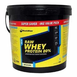 Raw Whey Protein 4kg MuscleBlaze