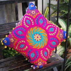 Suzani Square Pillow Covers