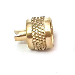 Brass Precision Dimond Knurling Insert