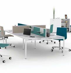 PIYUSH DESIGNS Linear Office Furniture, Size: 4'