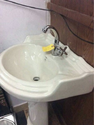 Pipe With Wash Basin