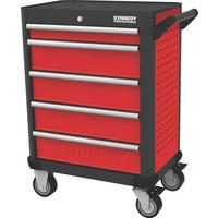 Red-28 5 Drawer Professional Roller Cabinet