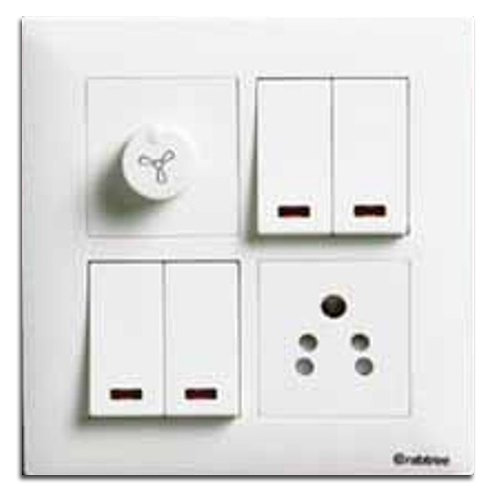 anchor white electrical switchboard, rs 115 piece, apg enterprise