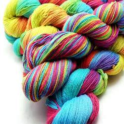 Recycling Dyed Yarn