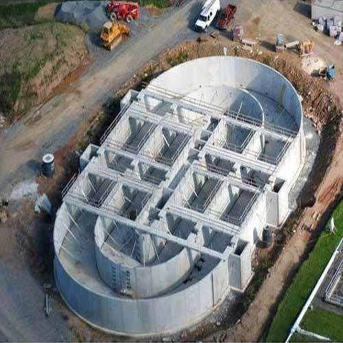 Precast Civil Sewage Treatment Plants Activated Sludge