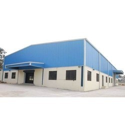 Steel Prefabricated Industrial Shed