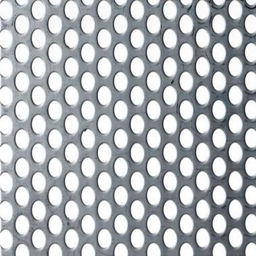 Perforated Screen Round Hole Perforated Metal Screen