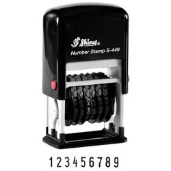 Shiny S-449 Self Inking Stamp