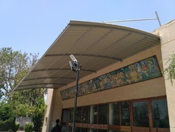 Color Coated Polycarbonate Canopy