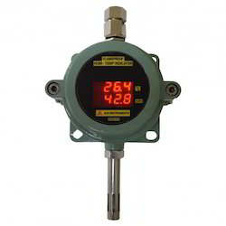 Flameproof Humidity Temperature Indicator Transmitter