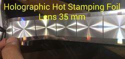 Diffractive Holographic Lens Foils