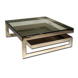 Stainless Steel Designer Center Tables