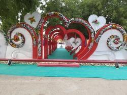 Wedding Entry In Heart Shape Service