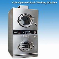 Commercial Coin Operated Stack Washing Machine