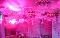 Flowers And Balloons Decoration