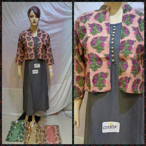 Cotton Jacket Kurti At Rs 995 Piece Chandni Chowk Delhi Id