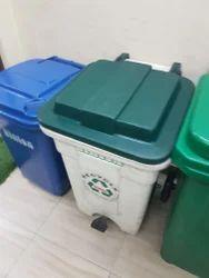 Foot Operated Wheeled Waste Bins