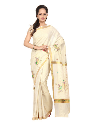 Kerala traditional saree accept. opinion