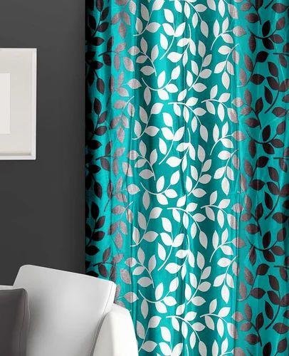 Curtain Green Leaf Set Of 2 In Color (Door