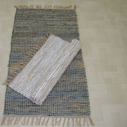 Jute Leather Rugs