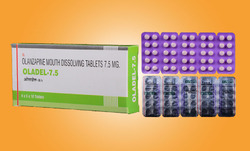 Olanzapine Mouth Dissolving Tablets 7.5 mg