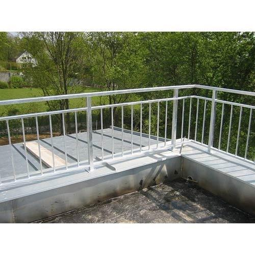 Terrace Steel Railing at Rs 4000 /mtr   Railings System ...