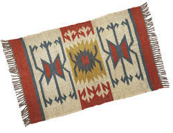 Multicolor Ablaze (India) Stylish Jute Rugs