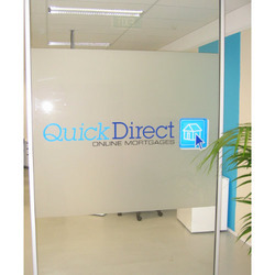 Frosted Film for Glass with Vinyl