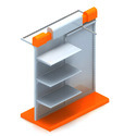 Garment Slatwall Racks